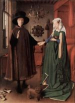Wedding Portrait of Giovanni Arnolfini and his Wife