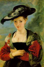Rubens - Portrait of Susanna Fourment