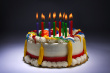 Tarta de feliz cumpleaños