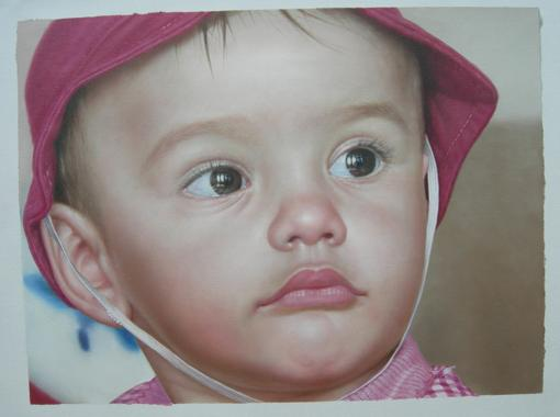 Baby's Face Portrait