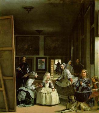 Las Meninas Portrait